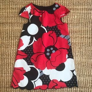 New: Baby Gap Lined Shift Dress with Cap Sleeves